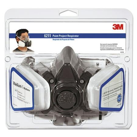 3M 6211P1-DC Dual Cartridge Paint Spray Respirator