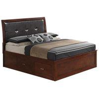 Glory Furniture Darden G1200B-KSB King Storage Bed, Cherry
