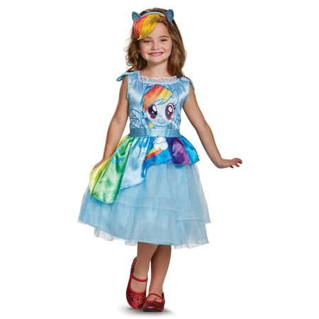 My Little Pony Costume For Kids (My Little Pony: Rainbow Dash Classic Child)
