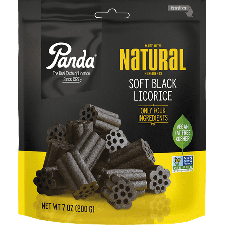 Panda, Black Chews Licorice, 7 Oz.