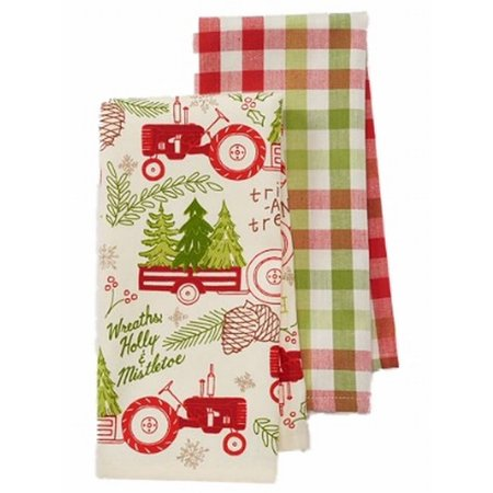St Nicholas Square Farm Tractor Trees Christmas Kitchen