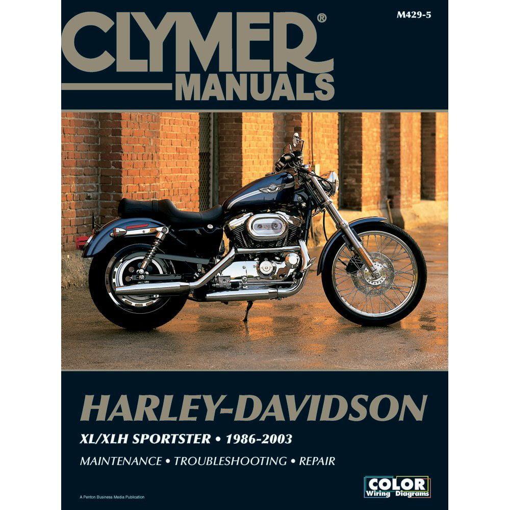 Harley-Davidson XL/XLH Sportster (1986-2003), Ship from America -  Walmart.com