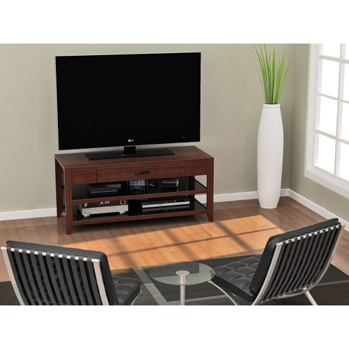 """Z-Line Designs Leona TV Stand for TVs up to 65"""", Cherry"""