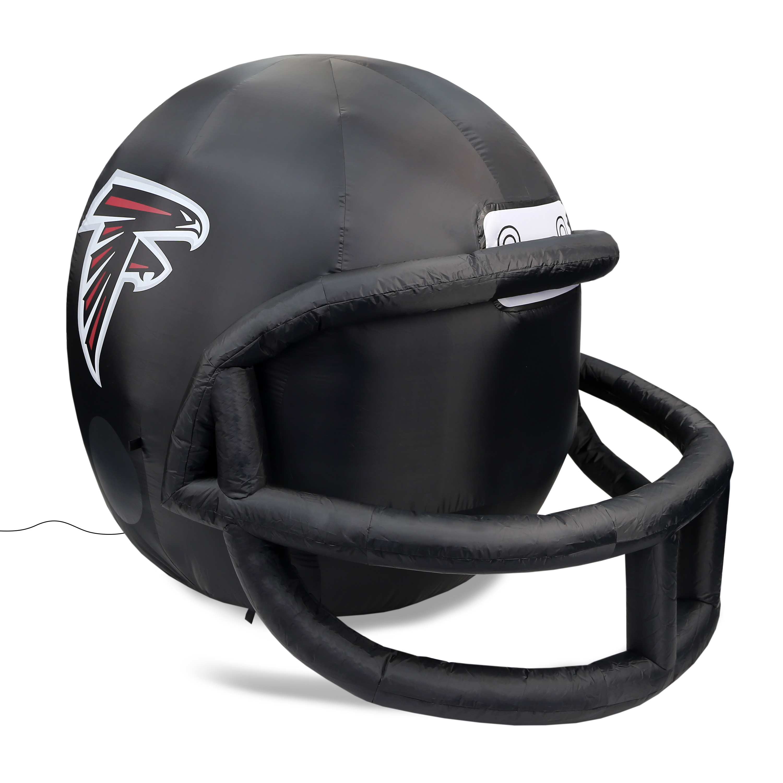 NFL Atlanta Falcons Team Inflatable Lawn Helmet, Black, One Size