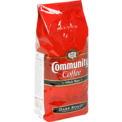 Community Coffee Signature Blend Dark Roast Whole Bean Coffee, 12 oz (Pack of 6)