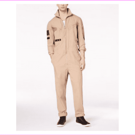 Guess Men's Boyd Poplin - Poplin Jumpsuit