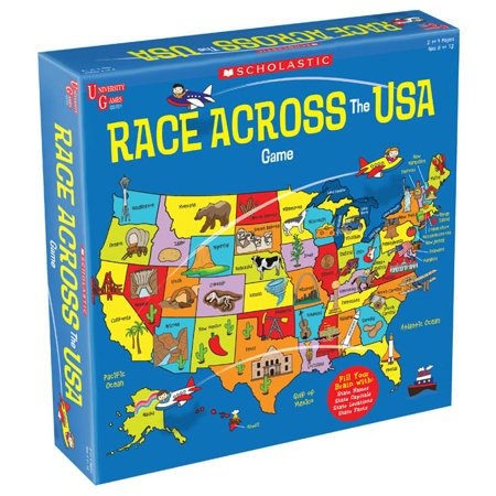 Scholastic Race Across the USA Game (Scholastic Games)