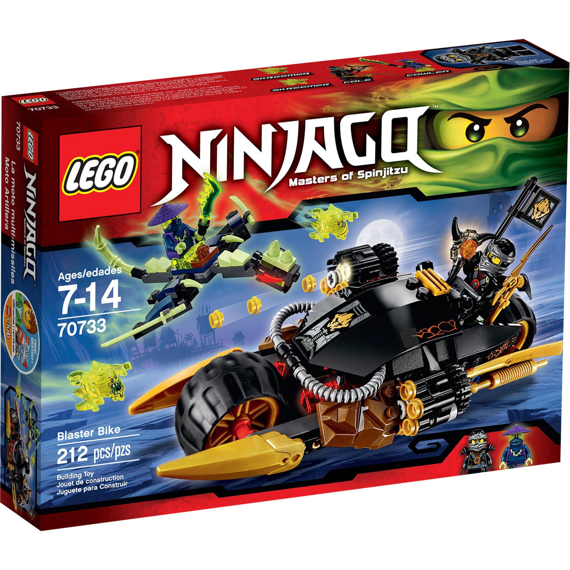 LEGO Ninjago Blaster Bike, 70733