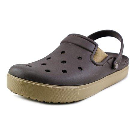 a646ee96307a98 Crocs - Crocs Citilane Clog Men Round Toe Synthetic Brown Clogs ...