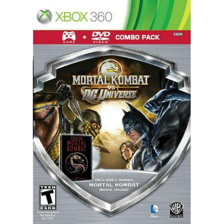 Eidos Mortal Kombat Vs Dc Game/mortal Kombat Movie Dvd Combo (Mortal Kombat Vs Dc Universe Combos Ps3)