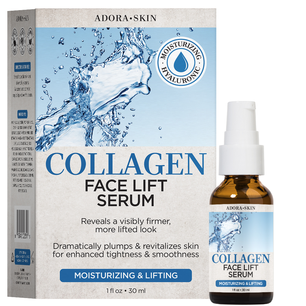 Adora Skin Collagen Face Lift Serum 1oz / 30ml