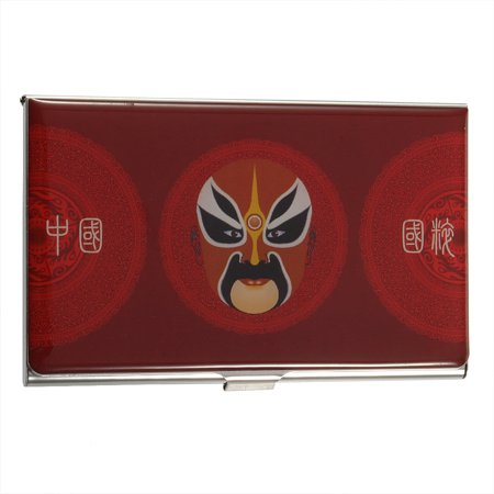 Unique Chinese Style Stainless Business Name Credit Card Cards Slim Holder Case