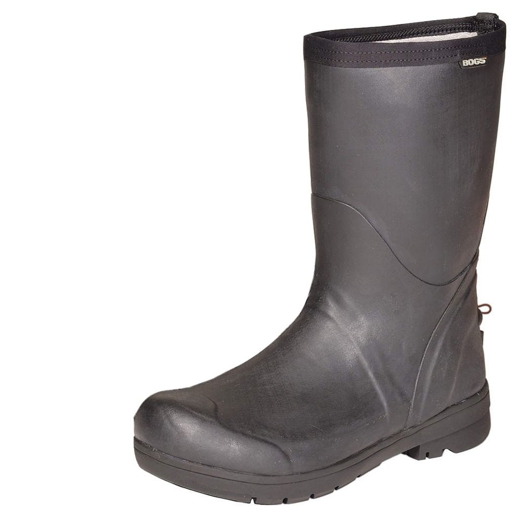 Bogs Boots Mens Womens Food Pro Mid Steel Shank Rubber WP...