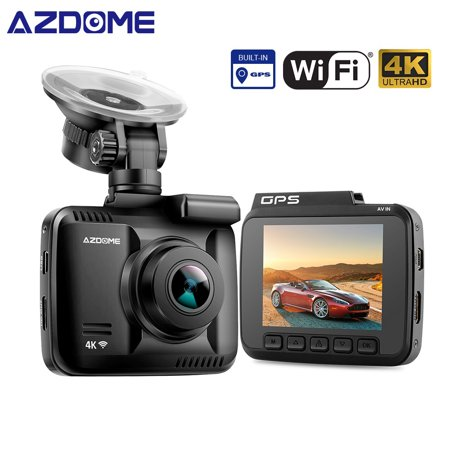 AZDOME GS63H Car DVR Recorder Dash Cam 4K Built-in GPS WiFi Dual Rear Lens Vehicle Camera Camcorder Night Vision Camera - image 3 of 7