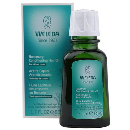 Weleda Weleda Conditioning Hair Oil, Rosemary, 1.7 Oz