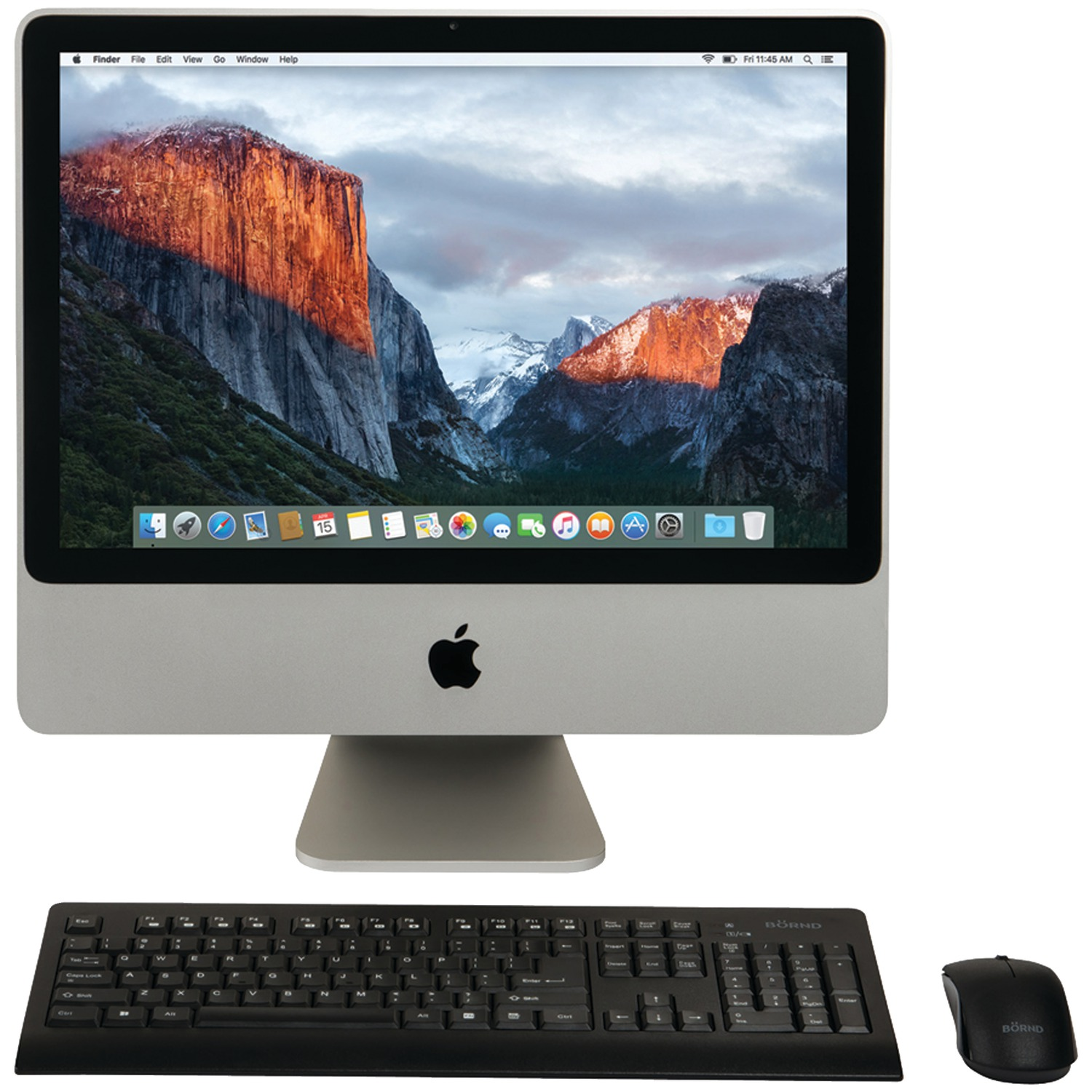 "Apple MB323LL/A/C2D/2.4/4GB/250GB/10.11 20"" Refurbished iMac Desktop Computer"
