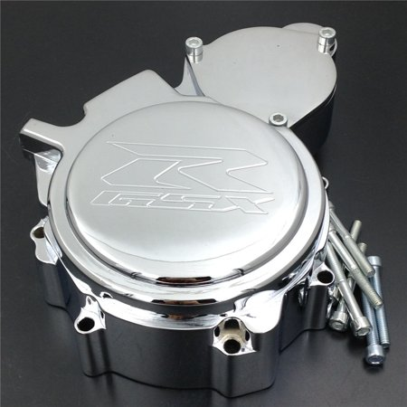HTT- Engine Stator Cover For Suzuki GSXR 600/750 2006-2013 Chrome Left Side Custom Made