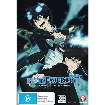 Blue Exorcist (Complete Series) - 6-DVD Set ( Ao no ekusoshisuto ) ( Blue Exorcist (25 Episodes) ) [ NON-USA FORMAT, PAL, Reg.4 Import - Australia ] - Ao No Exorcist Halloween