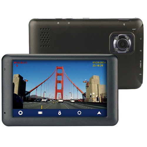 "Refurbished ""Magellan RoadMate 6230-LM 5 inch Automotive GPS with Dash Camera"