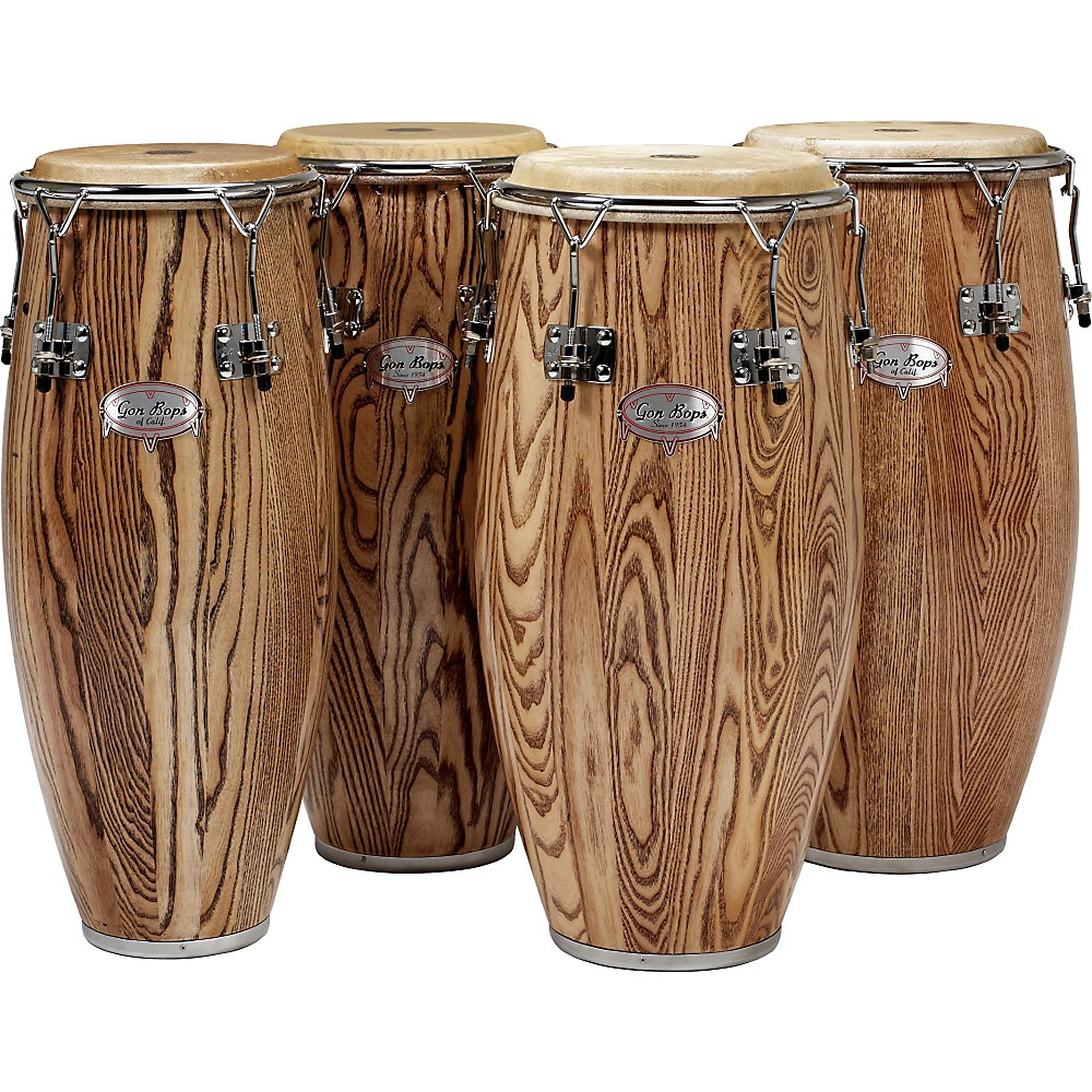 Gon Bops Alex Acuna Series Tumba Drum Natural Lacquer
