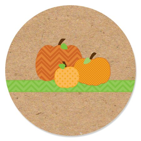 Pumpkin Patch - Fall & Halloween Party Circle Sticker Labels - 24 - Halloween And Fall Crafts