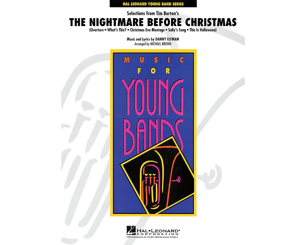 Hal Leonard Selections from The Nightmare Before Christmas - Concert ...