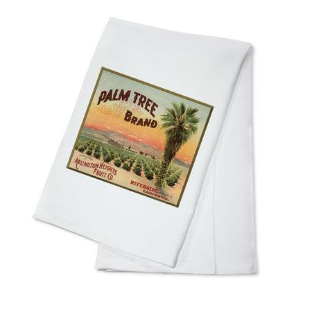 - Palm Tree Brand - Riverside, California - Citrus Crate Label (100% Cotton Kitchen Towel)