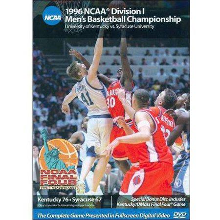 1996 Ncaa Division I Mens Basketball Championship  University Of Kentucky Vs  Syracuse University