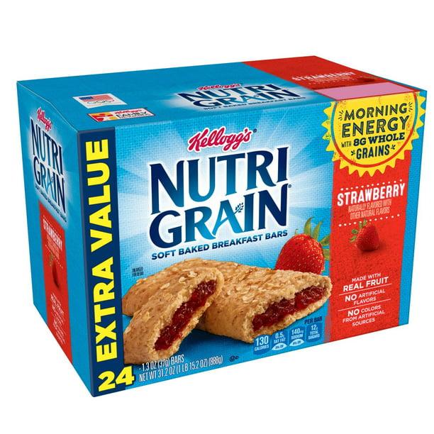 Kelloggs Nutri-Grain Apple Cinnamon Cereal Bars 10.4 oz 8