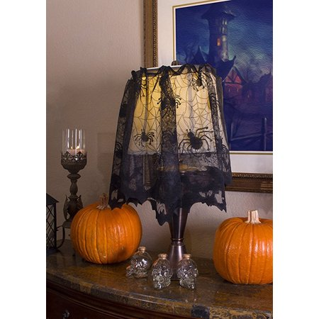 Halloween Lace Lamp Cover