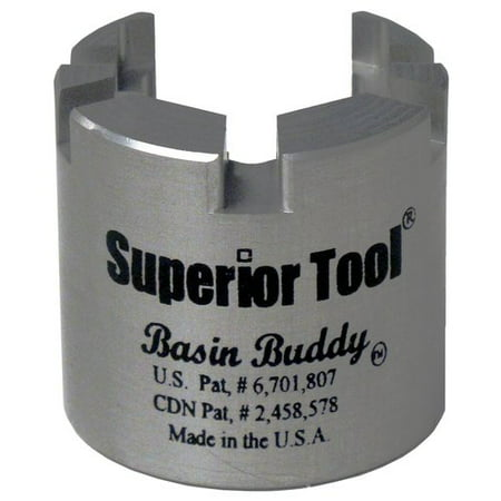 - SUPERIOR TOOL 03825 Basin Buddy Faucet Nut Wrench