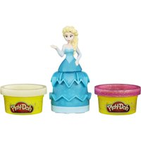 Play-Doh Disney Frozen Mix 'N Match Figure Set with Elsa & 2 Cans of Dough