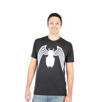 Spider-Man Venom Legs Adult Black Performance T-Shirt