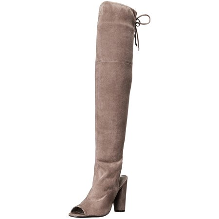 GUESS Womens Galle Open Toe Knee High Fashion Boots