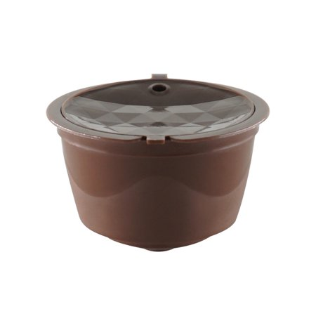 Mosunx 1PC Refillable Coffee Capsule Cup Reusable Filter For Dolce Gusto