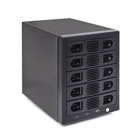"""Syba SY-ENC50118 5Bay 2.5"""" & 3.5"""" SATA HDD External USB 3.0 Hard Drive Enclosure"""