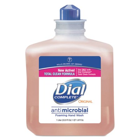 Dial Professional Antimicrobial Foaming Hand Wash, 1000mL Refill, (Dial Himalayan Pink Salt Hand Soap Refill)