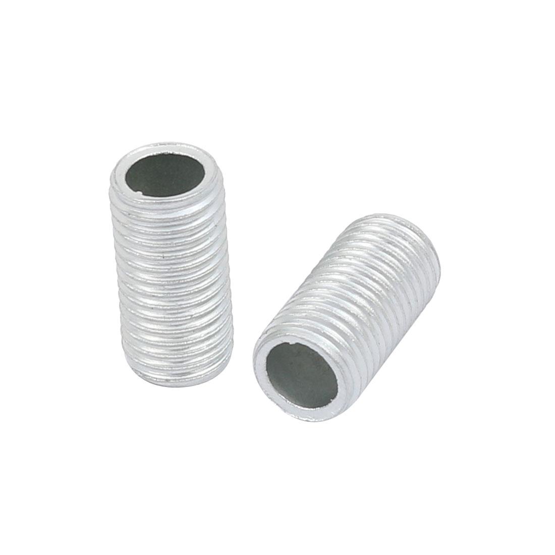 Unique Bargains 30Pcs Metric M8 1mm Pitch Thread Zinc Plated Pipe Nipple Lamp Parts 15mm Lenght - image 1 de 2