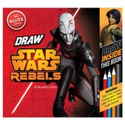 """Star Wars Rebels : Be a """"Trooper!"""" Draw Right Inside This Book"""