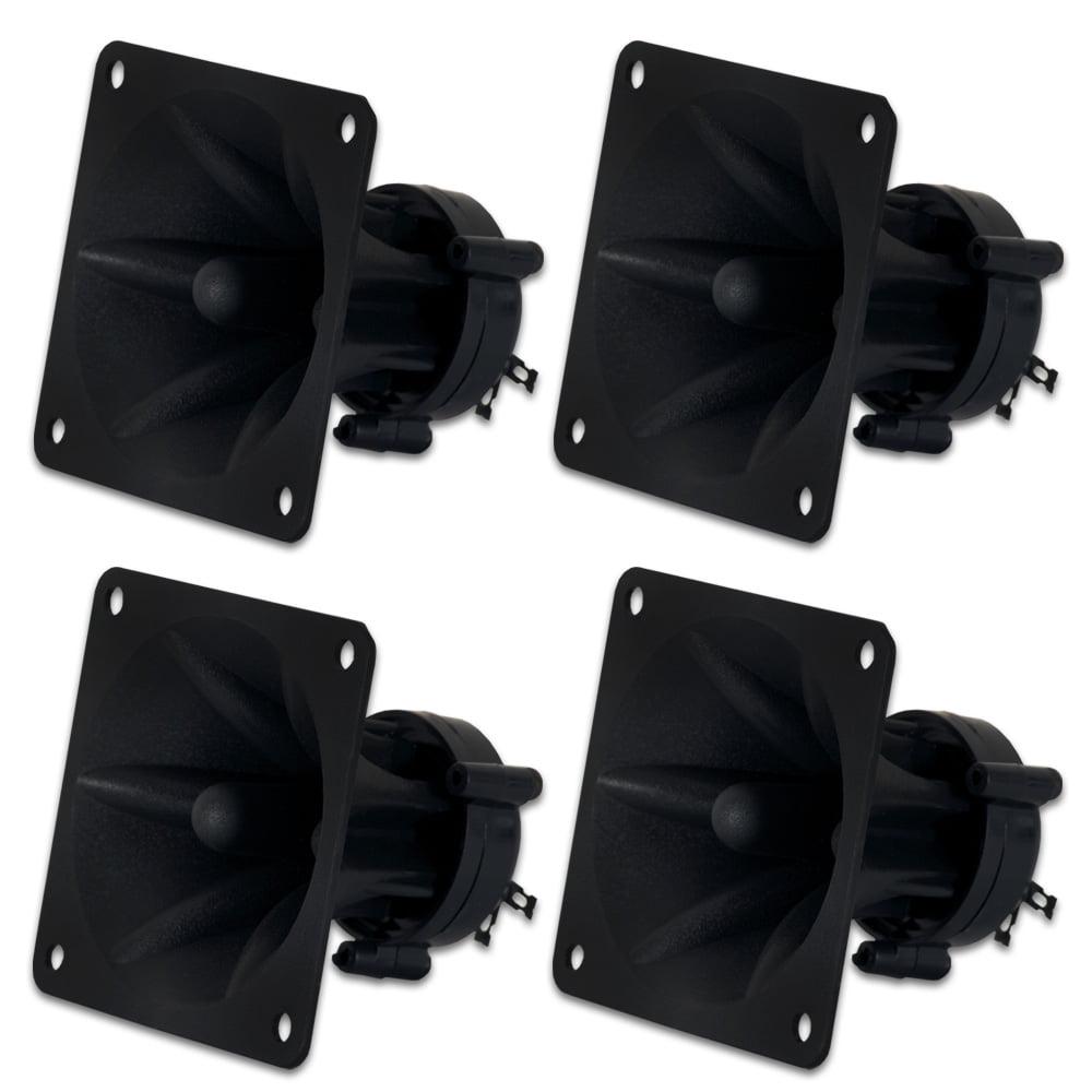 4 Goldwood Sound GT-1005 Piezo Horn Tweeters 75 Watts each Replacement for KSN1005A