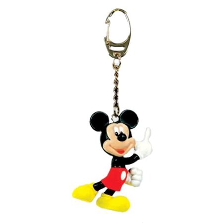 Disney Figural PVC Key Ring Mickey