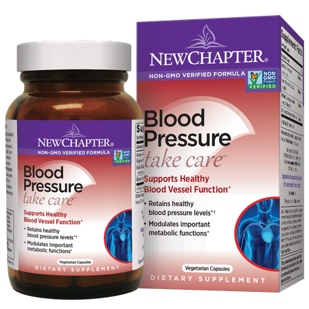 New Chapter Blood Pressure Take Care Vegetarian Capsules, 30