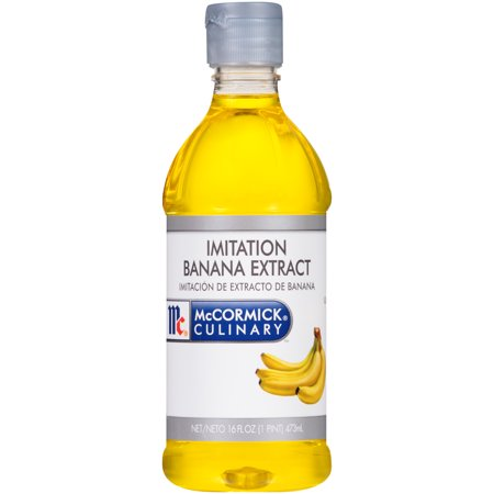 McCormick Culinary Imitation Banana Extract, 1 pt