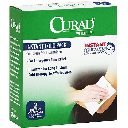 Curad Instant Cold Pack, 2 ct (Pack of 24)