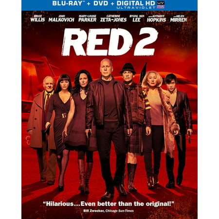 Red 2 (Blu-ray + DVD + Digital HD) - Red Oitnb