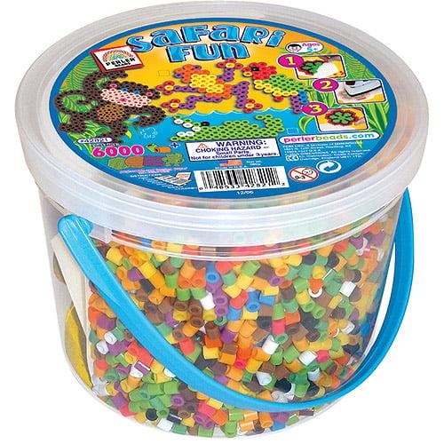 Perler Fuse Bead Activity Bucket, Safari Fun
