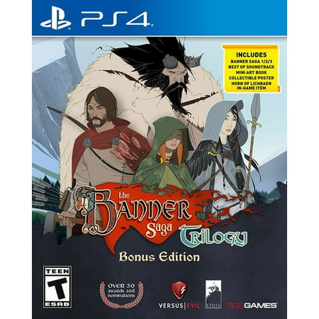 The Banner Saga Collection, 505 Games, PlayStation 4, 812872019567