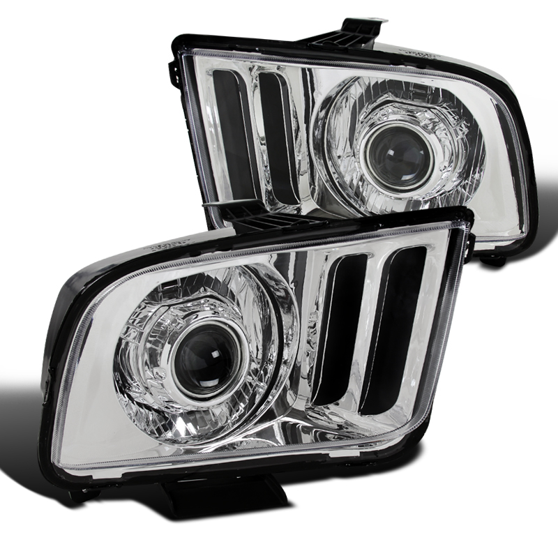 2005-2009 Ford Mustang Headlights Headlamp Replacement Left+Right 05 06 07 08 09