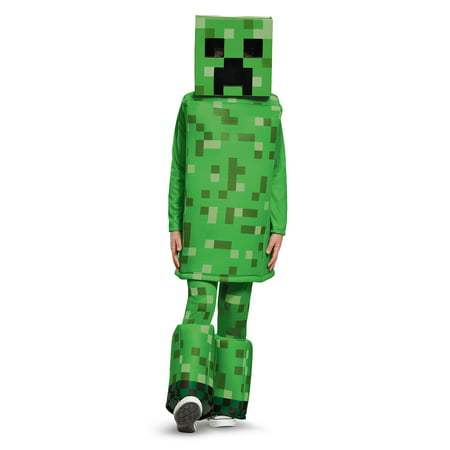 Minecraft - Creeper Prestige Child Costume](Minecraft Creeper Head)