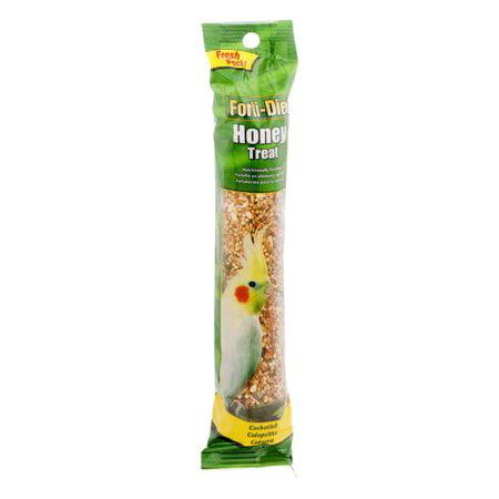 - (2 Pack) Forti-Diet Honey Treat for Cockatiel Pet Bird, 3.5 OZ